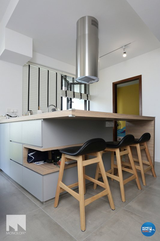 Minimalist, Scandinavian Design - Dining Room - Condominium - Design by MONOLOFT