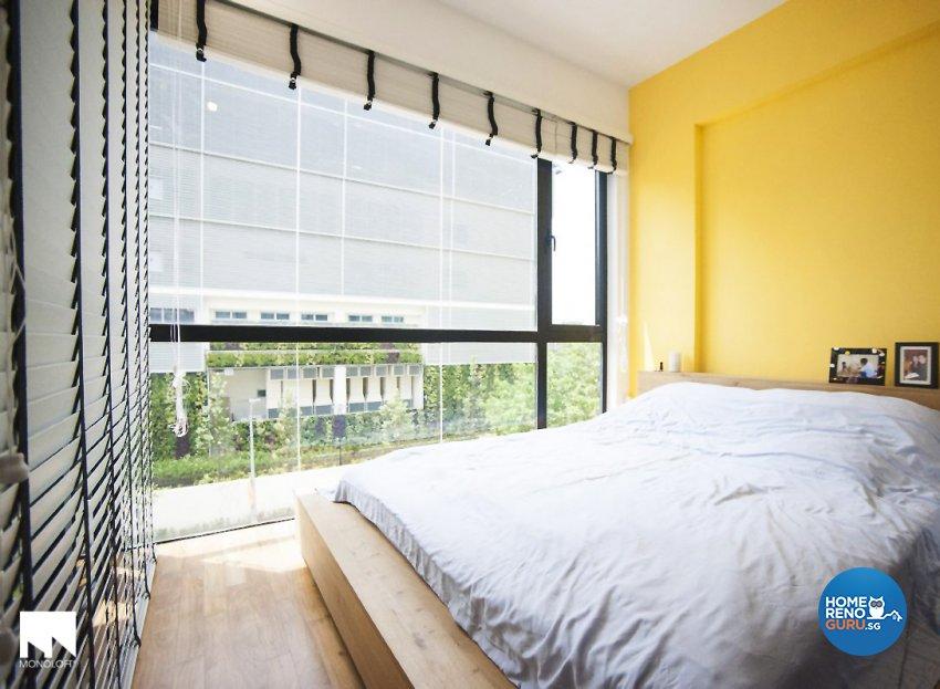 Minimalist, Scandinavian Design - Bedroom - Condominium - Design by MONOLOFT