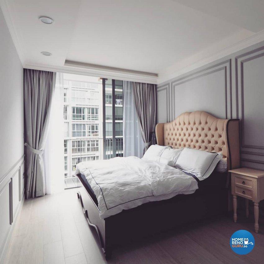 Victorian Design - Bedroom - Condominium - Design by MU STUDIO SG PTE LTD