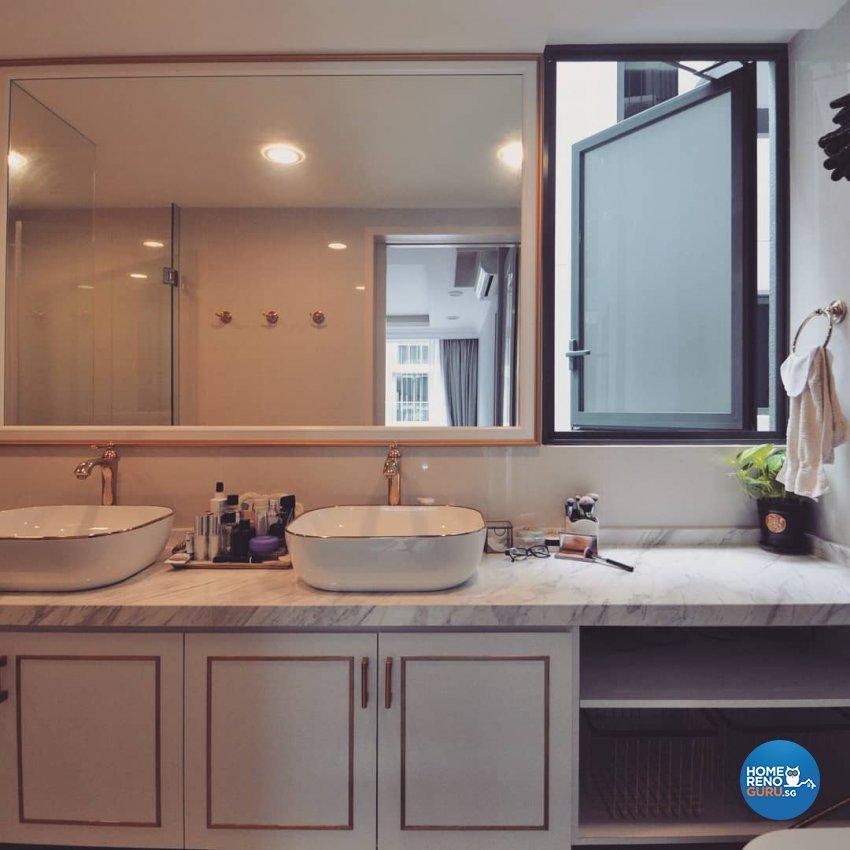 Victorian Design - Bathroom - Condominium - Design by MU STUDIO SG PTE LTD