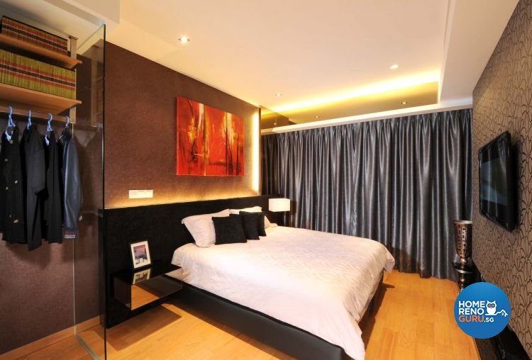 Classical, Modern Design - Bedroom - HDB 5 Room - Design by MyDesign Interiors Pte Ltd