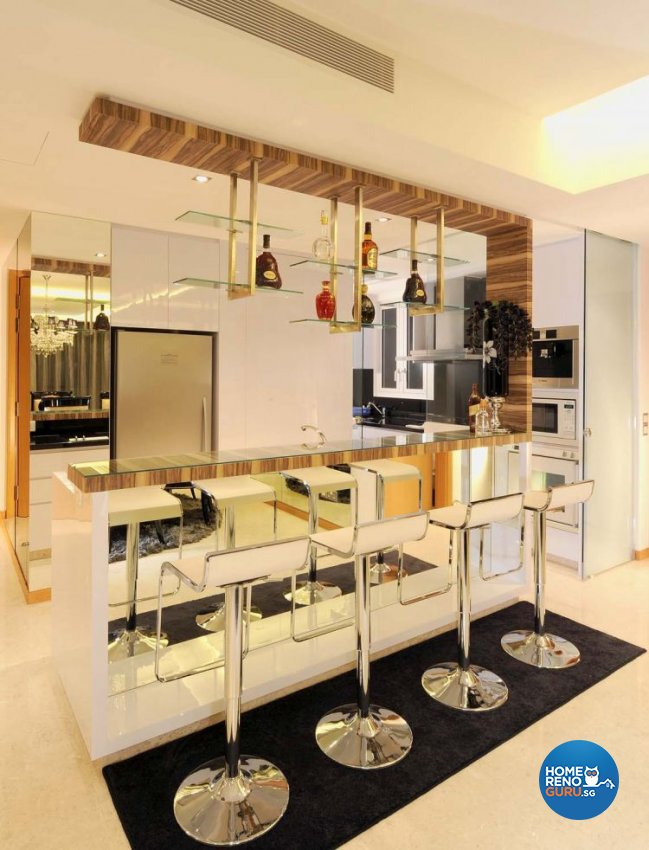 Classical, Modern Design - Kitchen - HDB 5 Room - Design by MyDesign Interiors Pte Ltd