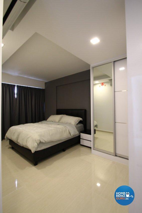 Minimalist, Modern Design - Bedroom - HDB 4 Room - Design by Nativ9 Design LLP