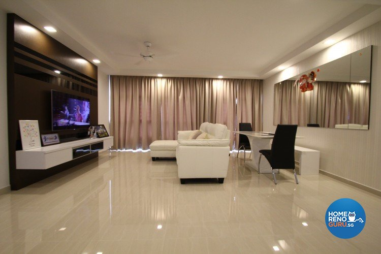 HDB 4 Room Anchorvale by Nativ9 Design LLP