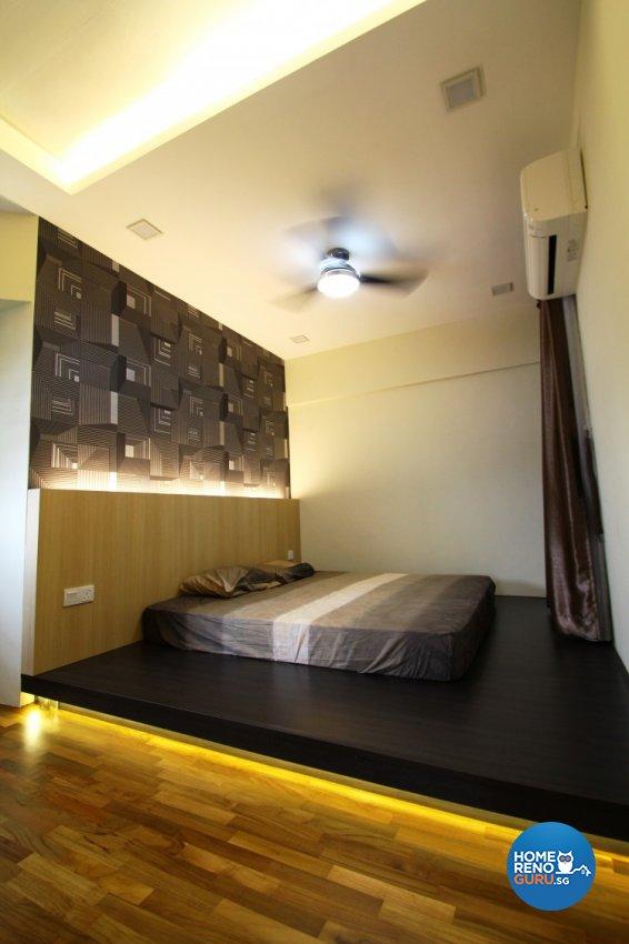 Contemporary, Scandinavian Design - Bedroom - HDB 5 Room - Design by Nativ9 Design LLP