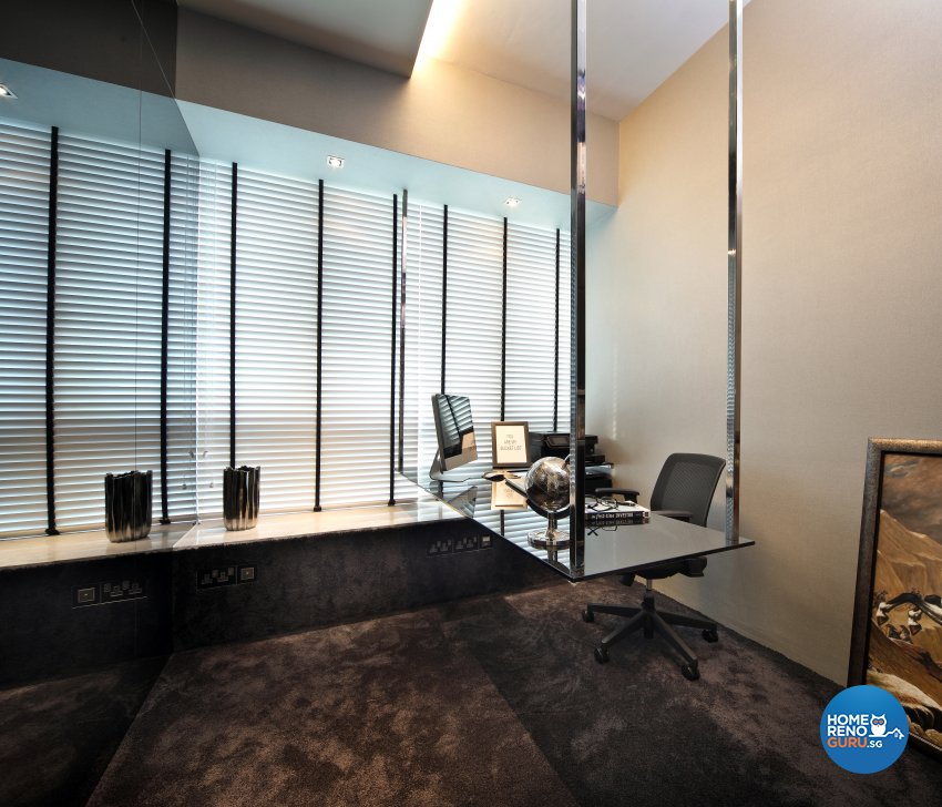 Modern Design - Study Room - Condominium - Design by Neu Konceptz Pte Ltd
