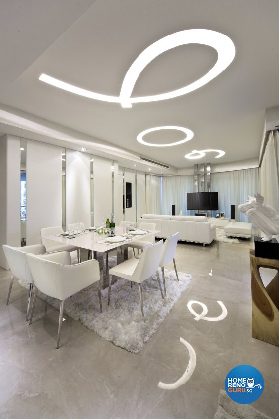 Modern Design - Dining Room - Condominium - Design by Neu Konceptz Pte Ltd