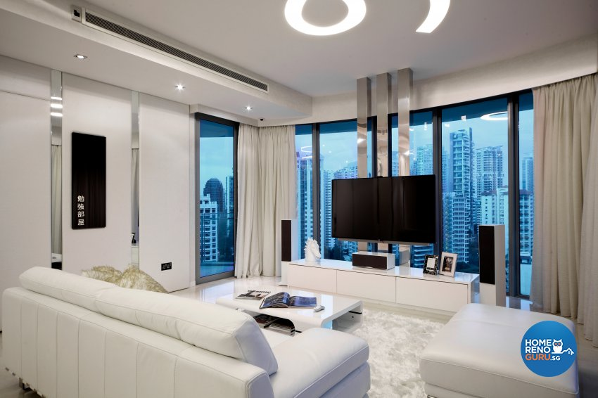 Modern Design - Living Room - Condominium - Design by Neu Konceptz Pte Ltd