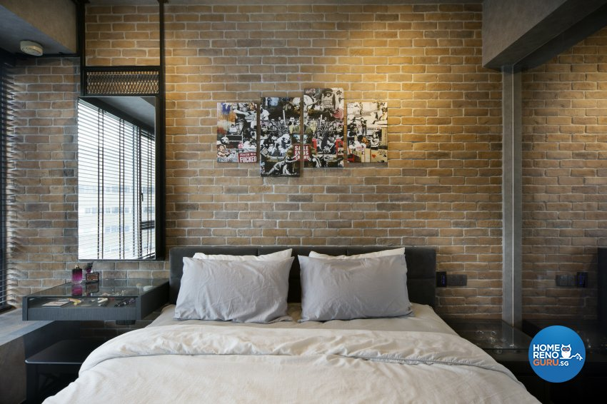Industrial, Rustic Design - Bedroom - Condominium - Design by Neu Konceptz Pte Ltd
