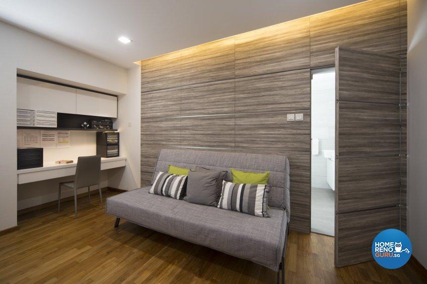 Contemporary, Eclectic, Modern Design - Study Room - Condominium - Design by Neu Konceptz Pte Ltd