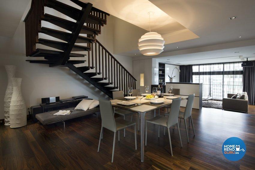 Contemporary, Eclectic, Modern Design - Dining Room - Condominium - Design by Neu Konceptz Pte Ltd