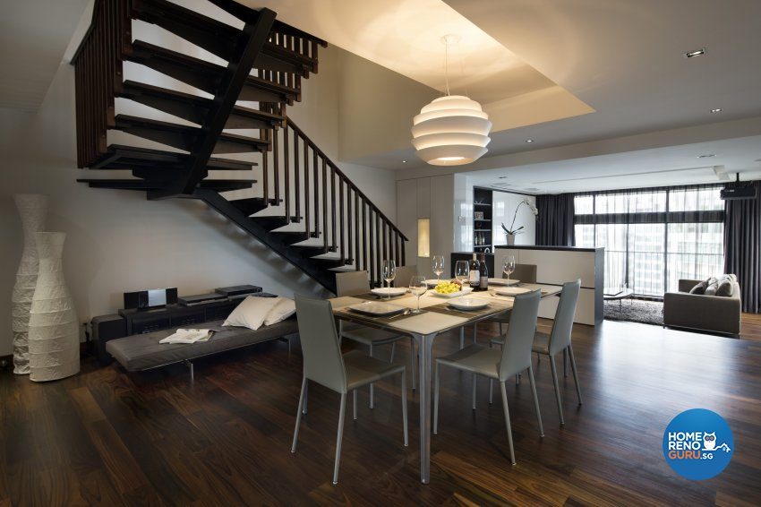 Contemporary, Modern Design - Dining Room - Condominium - Design by Neu Konceptz Pte Ltd