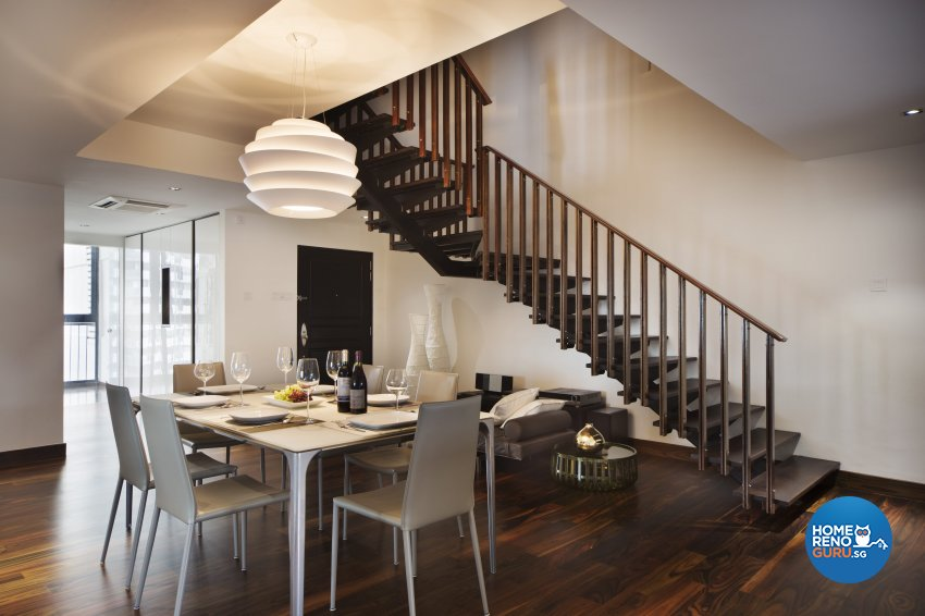 Contemporary, Eclectic, Modern Design - Dining Room - Condominium - Design by Neu Konceptz Pte Ltd