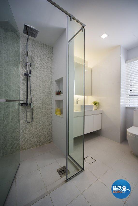 Contemporary, Eclectic, Modern Design - Bathroom - Condominium - Design by Neu Konceptz Pte Ltd