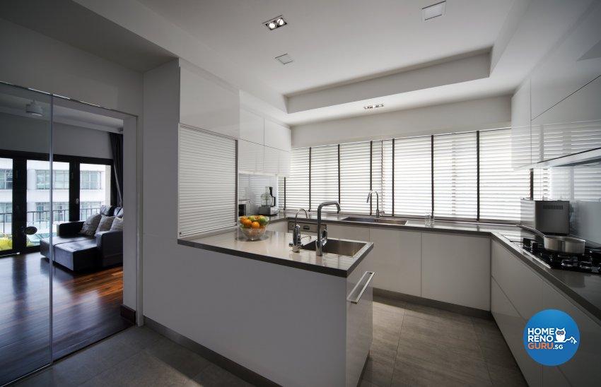 Contemporary, Eclectic, Modern Design - Kitchen - Condominium - Design by Neu Konceptz Pte Ltd