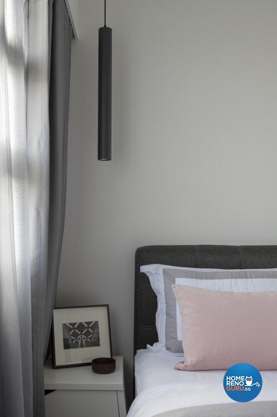 Minimalist, Modern Design - Bedroom - HDB 3 Room - Design by Neu Konceptz Pte Ltd