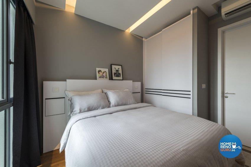 Contemporary, Minimalist, Modern Design - Bedroom - Condominium - Design by Neu Konceptz Pte Ltd