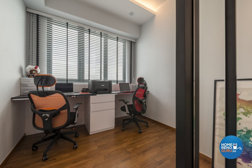 Contemporary, Minimalist, Modern Design - Study Room - Condominium - Design by Neu Konceptz Pte Ltd