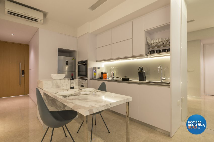 Contemporary, Minimalist, Modern Design - Kitchen - Condominium - Design by Neu Konceptz Pte Ltd
