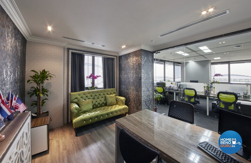 Modern, Retro Design - Commercial - Office - Design by New Interior Design