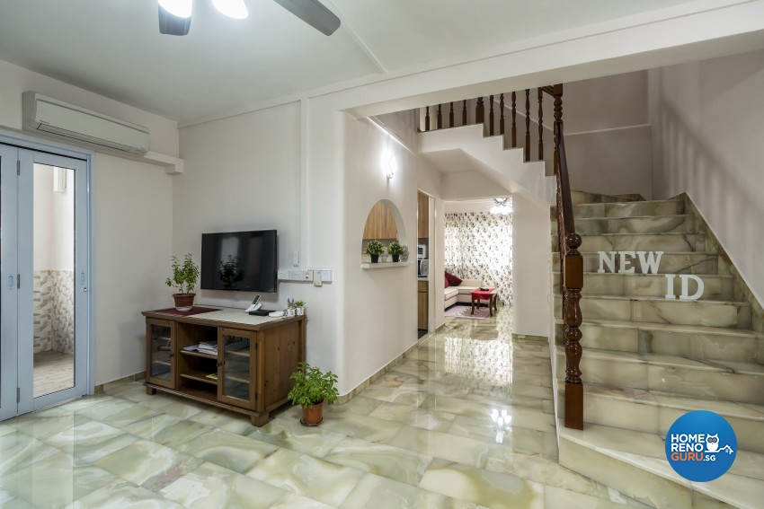 Modern Design - Living Room - HDB Executive Apartment - Design by New Interior Design