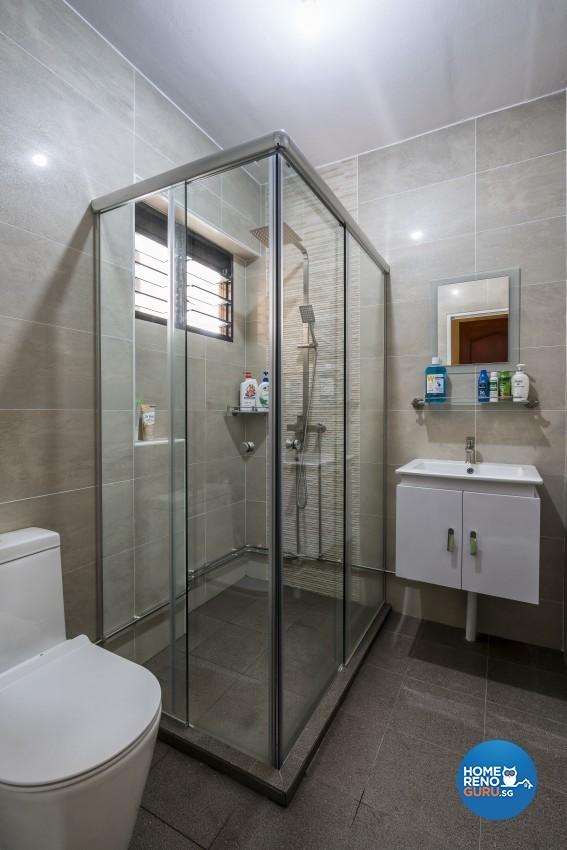Modern Design - Bathroom - HDB Executive Apartment - Design by New Interior Design