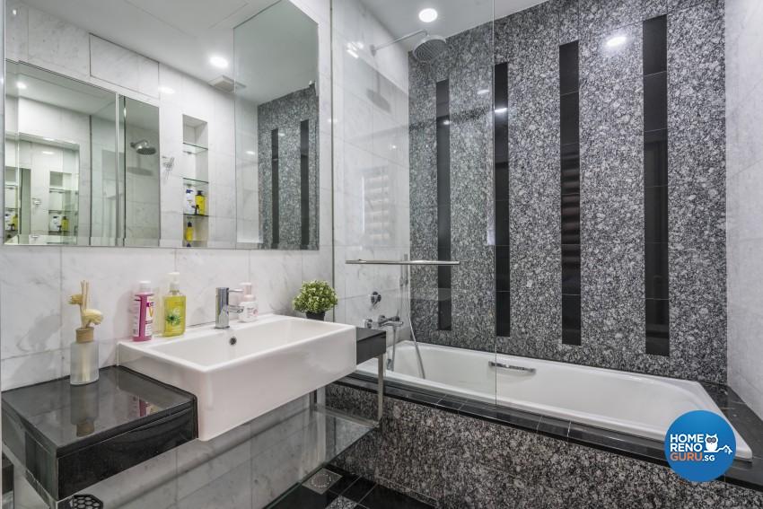 Modern, Scandinavian Design - Bathroom - Condominium - Design by New Interior Design
