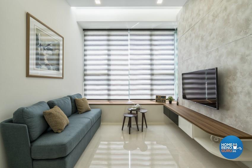 Modern, Scandinavian Design - Living Room - Condominium - Design by New Interior Design