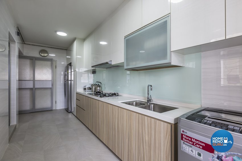 Modern Design - Kitchen - HDB 4 Room - Design by New Interior Design