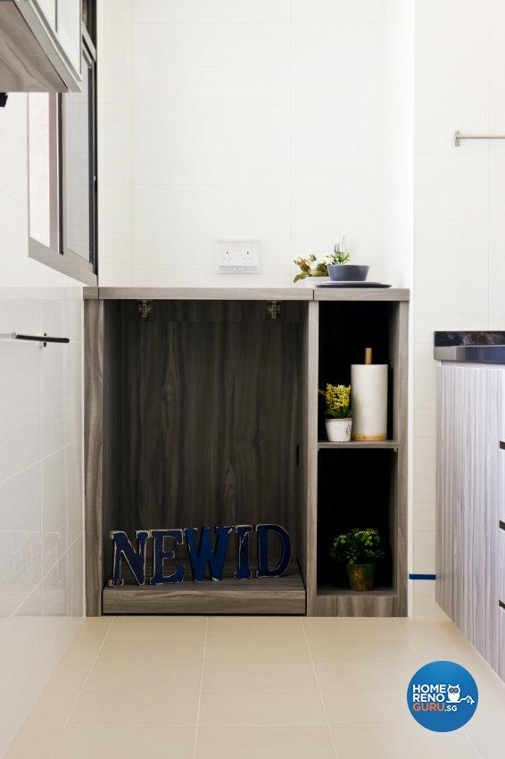 Contemporary, Modern Design - Kitchen - HDB Studio Apartment - Design by New Interior Design