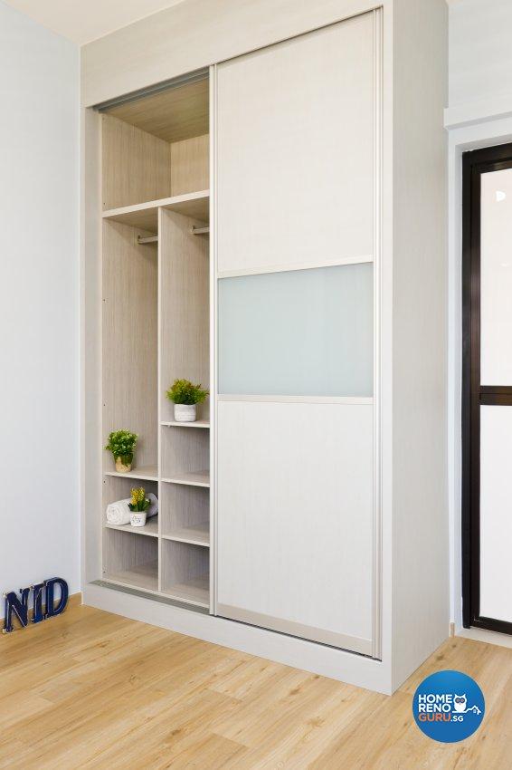 Contemporary, Modern Design - Bedroom - HDB Studio Apartment - Design by New Interior Design