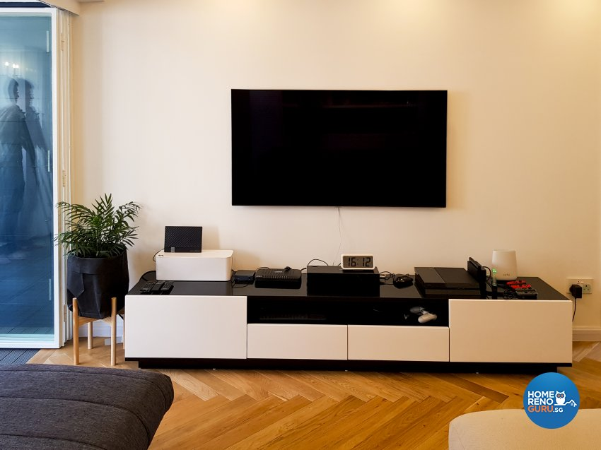 Minimalist, Scandinavian Design - Living Room - HDB 5 Room - Design by New Interior Design