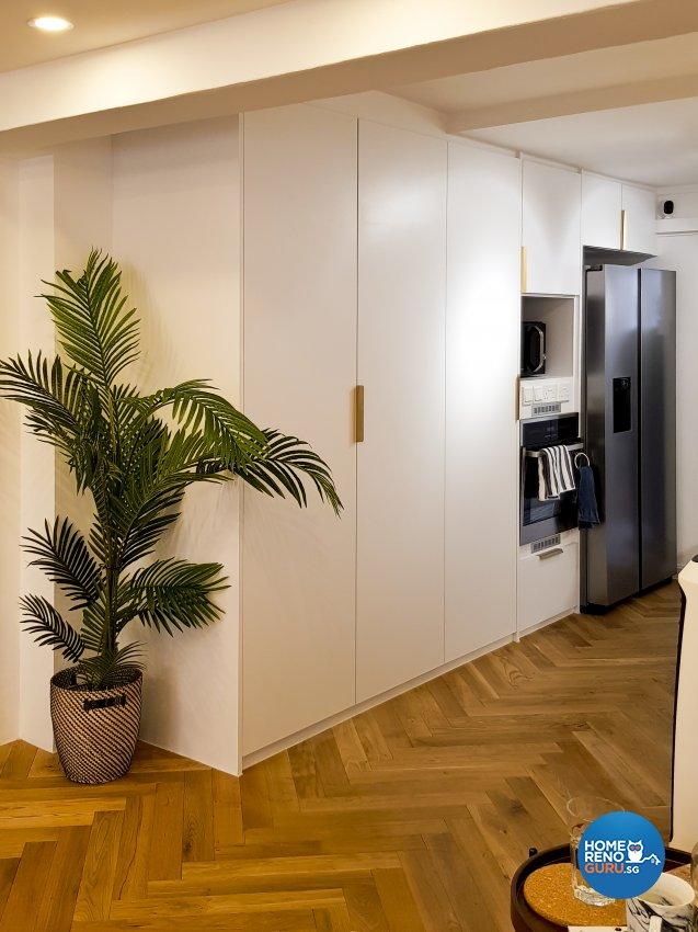 Minimalist, Scandinavian Design - Kitchen - HDB 5 Room - Design by New Interior Design