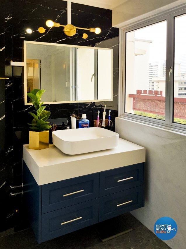 Minimalist, Scandinavian Design - Bathroom - HDB 5 Room - Design by New Interior Design