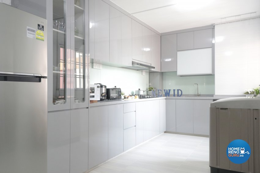 Modern Design - Kitchen - HDB 5 Room - Design by New Interior Design