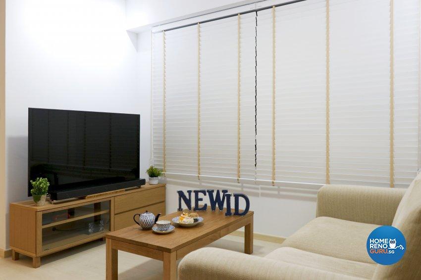Modern Design - Living Room - HDB 3 Room - Design by New Interior Design