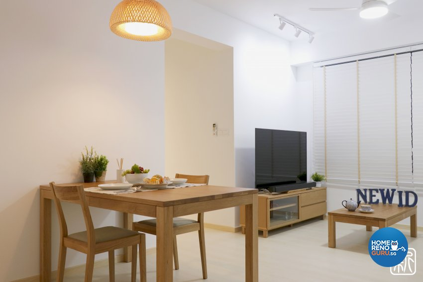 Modern Design - Dining Room - HDB 3 Room - Design by New Interior Design