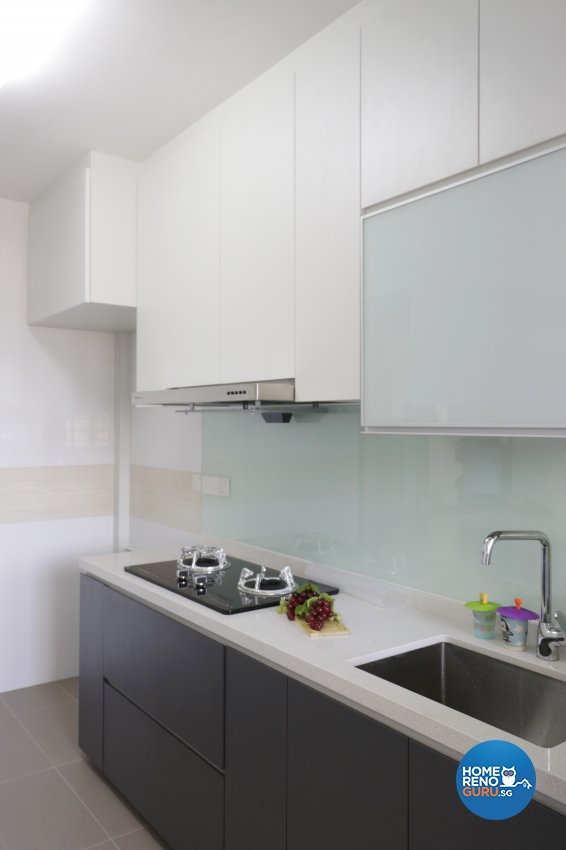 Contemporary, Modern Design - Kitchen - HDB 4 Room - Design by New Interior Design