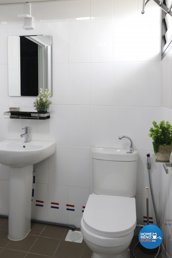 Contemporary, Modern Design - Bathroom - HDB 4 Room - Design by New Interior Design