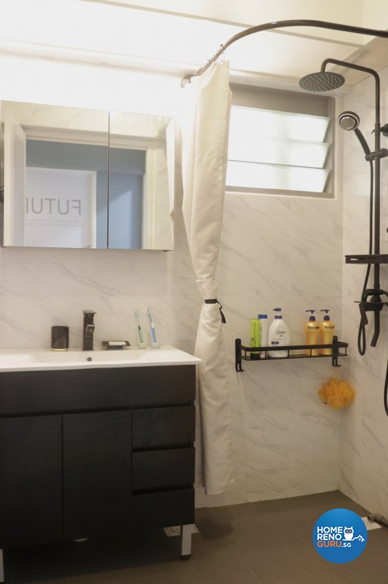 Modern Design - Bathroom - HDB 5 Room - Design by New Interior Design