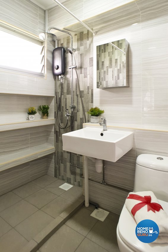 Modern Design - Bathroom - HDB 4 Room - Design by New Interior Design