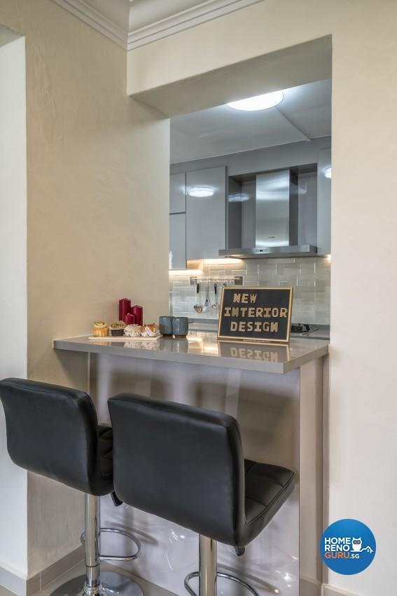 Modern Design - Dining Room - HDB 5 Room - Design by New Interior Design