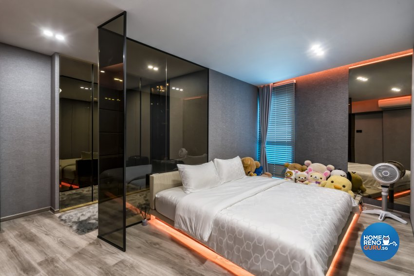 Contemporary Design - Bedroom - HDB 5 Room - Design by New Interior Design