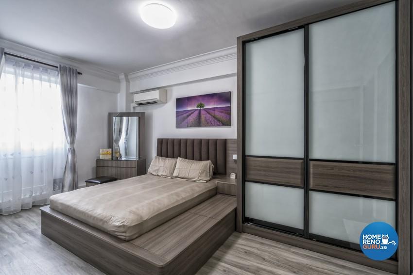Modern Design - Bedroom - HDB 5 Room - Design by New Interior Design