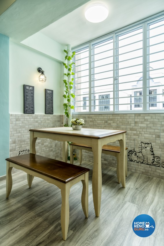 Modern, Others, Scandinavian Design - Dining Room - HDB 3 Room - Design by New Interior Design