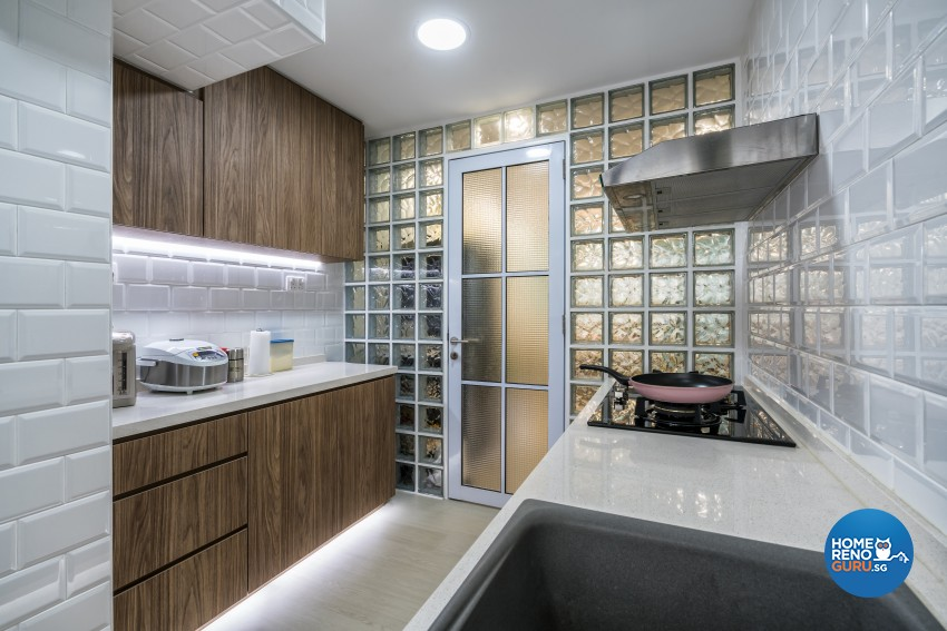 Modern, Others, Scandinavian Design - Kitchen - HDB 3 Room - Design by New Interior Design