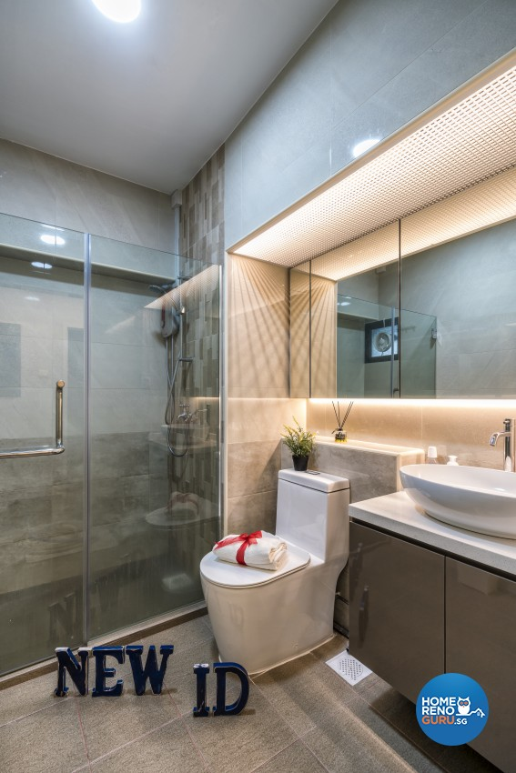 Modern, Others, Scandinavian Design - Bathroom - HDB 3 Room - Design by New Interior Design