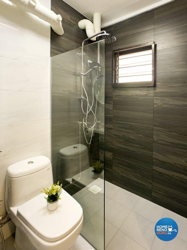 Minimalist Design - Bathroom - HDB 4 Room - Design by New Interior Design