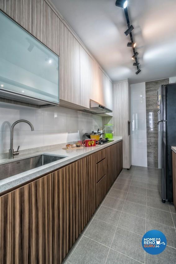Modern Design - Kitchen - HDB 4 Room - Design by New Interior Design