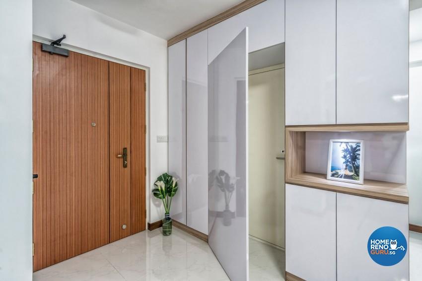 Modern Design - Living Room - HDB 4 Room - Design by New Interior Design